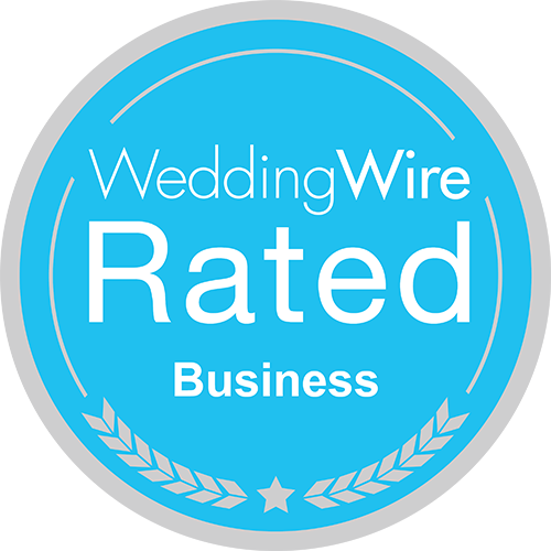 Rated on Wedding Wire